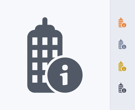 Building information icon