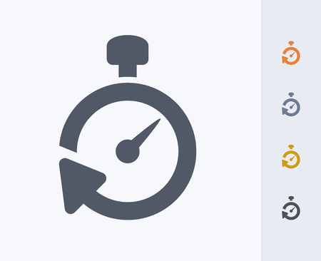 Timer icon Illustration