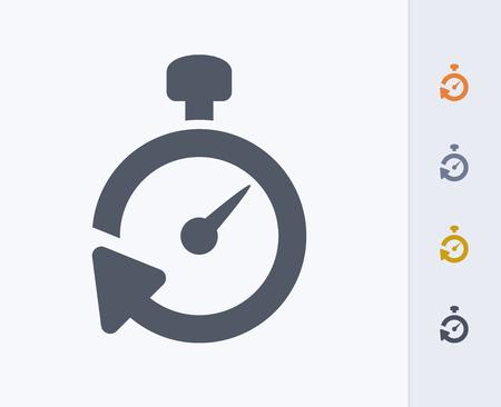 Timer icon Illusztráció