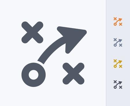 Strategy concept icon