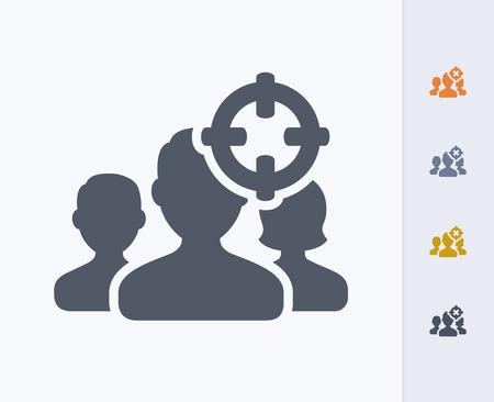 Targeting demographics concept