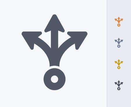 Plan concept icon