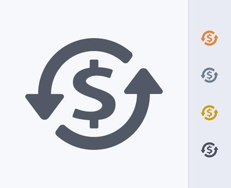 Money concept icon