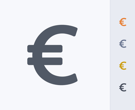 Euro dollar sign Ilustrace