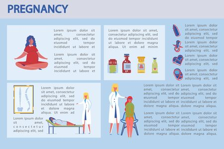 Womans Pregnancy is Closely Monitored by Doctor.