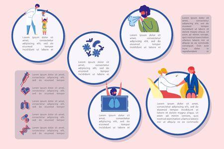 Banner Disease Prevention and Annual Vaccination. Illusztráció
