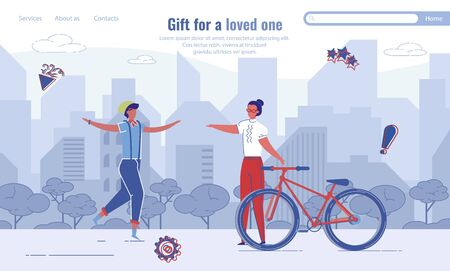 Gift for Loved One Selection Service Landing Page