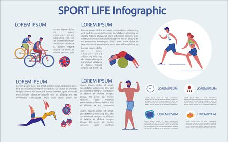 Sports Life Infographic, how it Goes and what Use.
