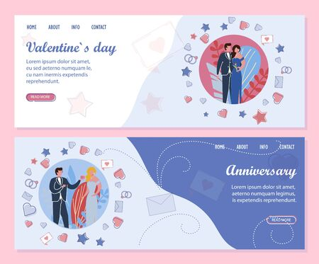 Family Anniversary and Events to Valentines Day.