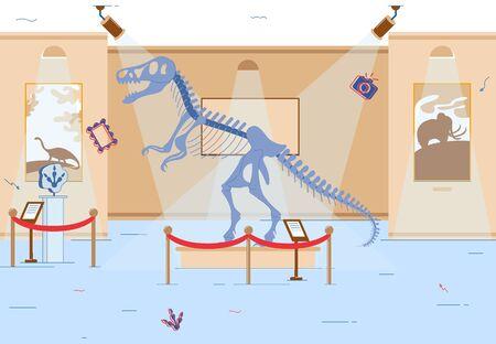 Mesozoic Era Exhibition in Local Historical
