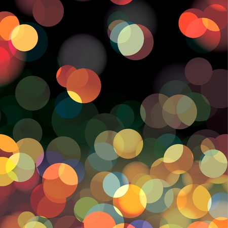 Abstract blurry circles background photo