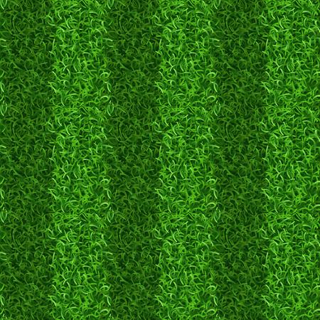 gridiron: Striped green grass field seamless vector texture. Grass repeat organic, grass gridiron field, soccer or football playing grass field illustration