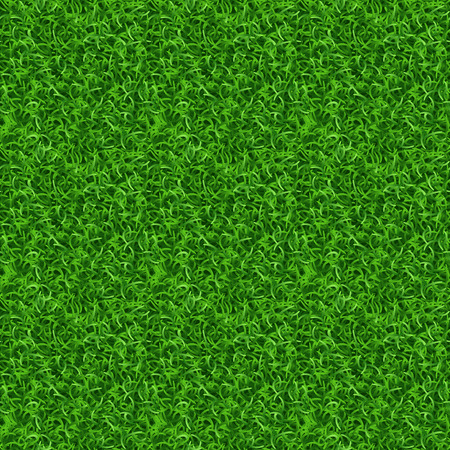 grass field: Seamless grass vector texture. Green grass, meadow grass pattern, field grass seamless texture illustration Illustration