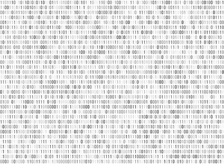 programming code: Binary matrix computer data code vector seamless background. Binary code for programming, illustration of digital code