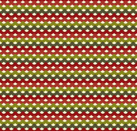spruce  thread: Knitted Christmas seamless pattern in traditional colors. Design background for christmas holiday. Vector illustration