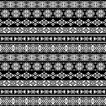 American Nativity Aztec Tribal Peruvian Vector Seamless Pattern Cool Aztec Tribal Pattern