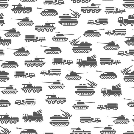 top gun: Army transport seamles pattern design - military transportation background. Army transport vector illustration