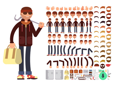 30,221 Character Set Vector Stock Vector Illustration And