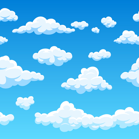 Clouds icon. Ilustrace