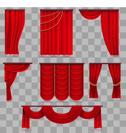 Gold velvet curtain drapery wedding stage decoration vector red velvet stage curtains scarlet theatre drapery isolated on transparent background curtain velvet red color for decoration theater interior vector junglespirit Gallery