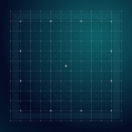 Grid for futuristic hud interface. Line technology vector pattern 写真素材