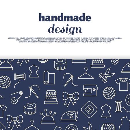 Sewing, needlework, handwork design.