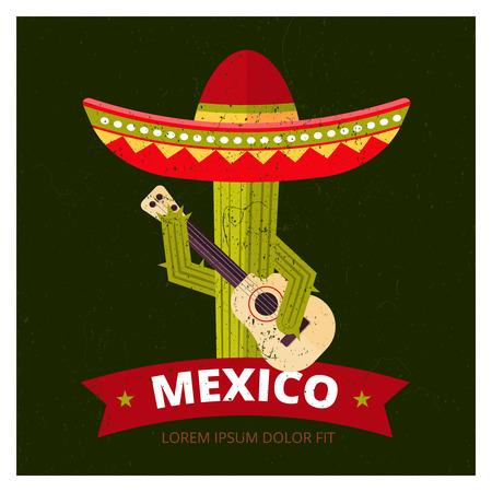 Cactus in sombrero
