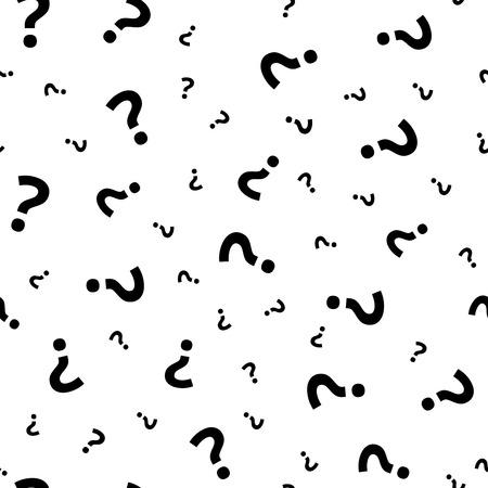 Question mark pattern