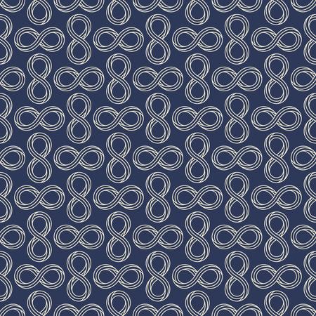 Infinity sign minimal seamless pattern design Stockfoto - 101770056