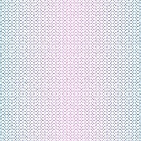 Guilloche texture. Guilloche passport money certificate watermark, wavy banknote element. Diploma vector background guilloche pattern texture illustration