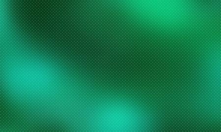 Fondo abstracto con degradado de color. Telón de fondo de club oscuro con textura punteada. Papel tapiz de vector de escritorio. Ilustración de semitono verde abstracto degradado