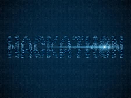Hackathon. Hack day, hackfest or codefest. Computer programmers marathon event vector hackathon background. Abstract cyber technology programmer illustration Vektorové ilustrace
