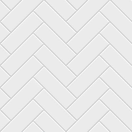 White herringbone parquet seamless pattern. Classic endless floor decoration. Parquet pattern texture, tile geometric backdrop, vector illustration Vektorové ilustrace