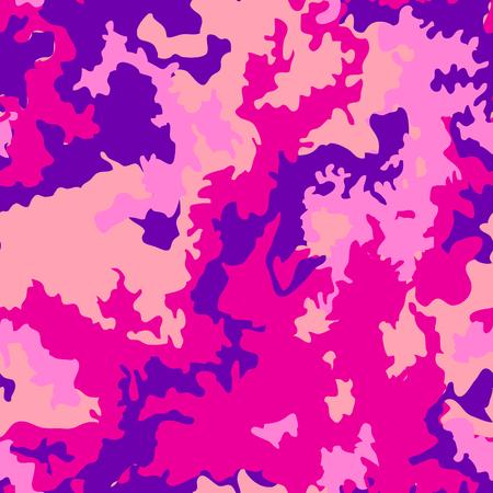 Fashion camouflage pattern, vector illustration