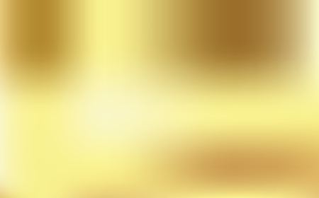 Gold gradient background vector icon texture metallic. Golden background vector illustration. Light and smooth realistic, elegant, shiny, metallic and empty golden gradient illustration.