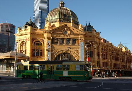 Flinders Street Station - Melbourne, Australia Stock Photo - 911041