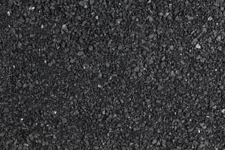Coal sand black background texture pattern dark Standard-Bild