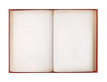 Top view libro isolato su sfondo bianco Archivio Fotografico - 28493211