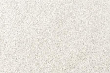 白い砂のディテール テクスチャ背景トップ ビュー