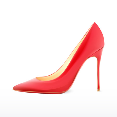 woman shoes realistic design in vector format