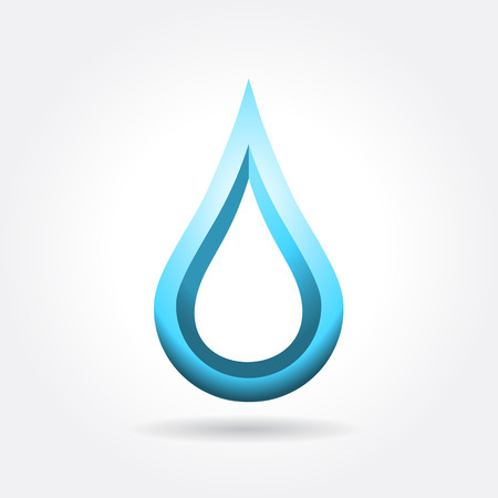 water drop icon design