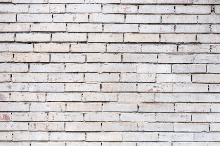 wall brick white for texture or background Stok Fotoğraf