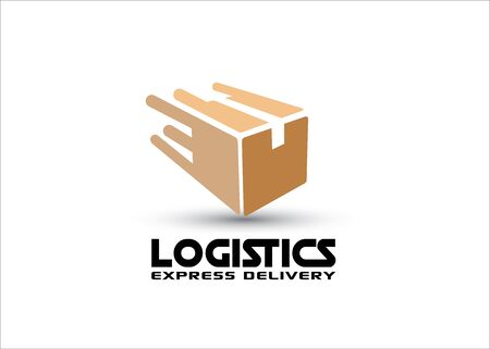 Logistics concept, box   design in vector format
