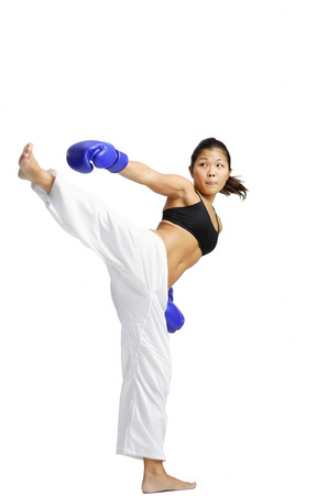 kickboxer: Female kickboxer LANG_EVOIMAGES