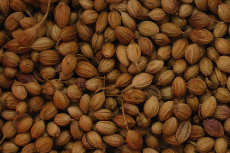 multiple images: Lot of cumin seeds