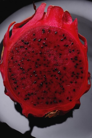 Sliced dragon fruit LANG_EVOIMAGES