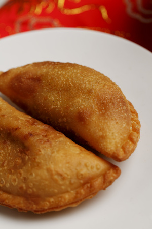puffs: Curry puffs. Malay food LANG_EVOIMAGES
