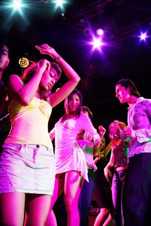 adults: Adults dancing in club