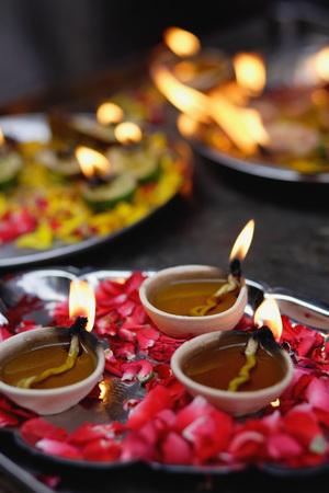 Deepavali offerings Фото со стока - 69405080