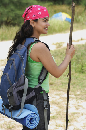 Young woman hiking LANG_EVOIMAGES